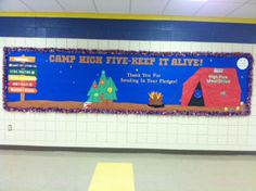 Check out this bulletin board at Charlotte Patterson Elementary School in Phoenix, AZ!