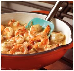 Campbell's Skillet Sauces – Scampi With White Wine And Garlic
