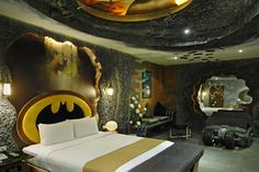 The Batman Room at the Eden Motel -- Kaohsiung City, Taiwan