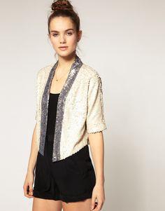 Warehouse Sequin Jacket