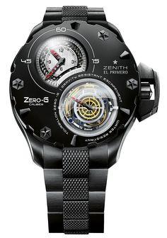 Zenith's Zero-G Tourbillon watch