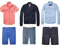 Scotch and Soda never disappoint, you can base your wardrobe on every piece from the Spring Summer collection this season. The latest stock is a nice blend of vintage washes and patterned prints...  http://junqionline.com/index.php/brands-1/scotch-soda.html?limit=all