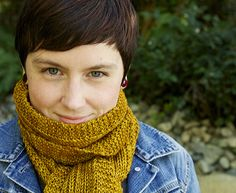 Wheat Scarf by Tin Can Knits : a free pattern from the Simple Collection