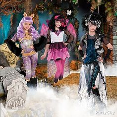 You and your freaky-fabulous ghoulfriends can descend in Monster High costumes to die for!