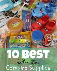 camp suppli, camping tips, idea, outdoor, dollar store, list, fun, camp tips, camping supplies