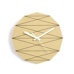 Wooden Creative Eco-friendly Geometry Wall Clock