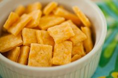 Homemade Cheez-It