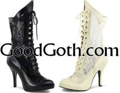Good Goth Victorian boots