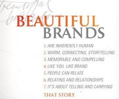The 7 Characteristics of Beautiful Brands.  CaptureHits Marketing Group