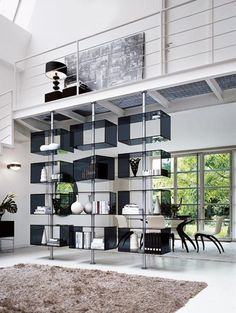 modern shelves...beautiful design idea