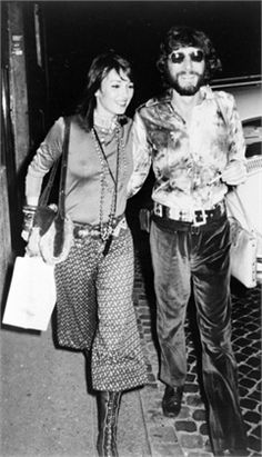 Talitha and Paul Getty in 1970