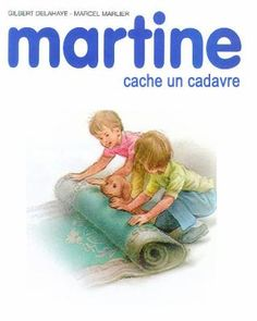 Martine hides a body