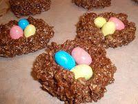 Easter theme no bake cookies