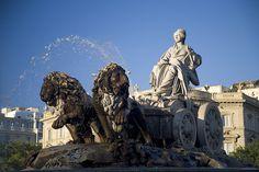 Plaza de Cibeles by Turismo Madrid, via Flickr