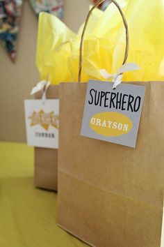 Top 5 Kids #Birthday Party #Decoration Ideas. 5. Accent the gift bags