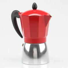 Better Living Italiano Espresso Maker In Red