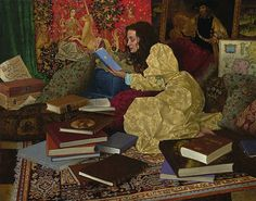 A Place of Her Own, by James Christensen.