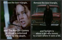 the hunger games funny pictures | Hunger Games > Twilight | These are a few of my favorite things...
