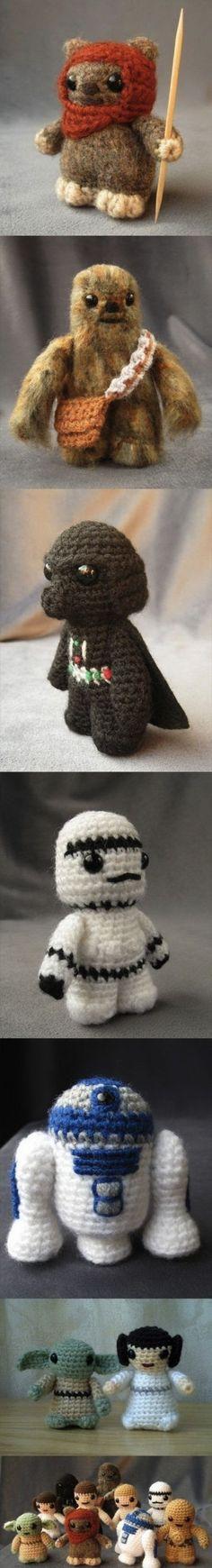 Crochet Star Wars - so cute!