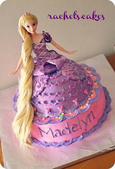Rapunzel Cake Las Vegas