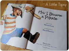 How I Became a Pirate book & activities