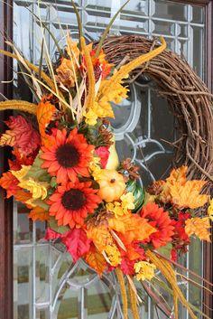 Crescent City Ramblings: Fall Wreath