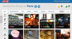 Gtrot, a Pinterest for globetrotting.