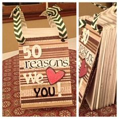 Have kids write 50 reasons