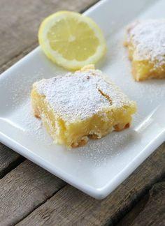 Gluten-Free Coconut Lemon Bars - FoodBabbles.com