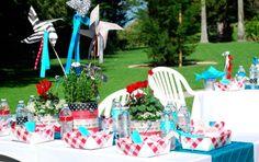 shower circus, circus theme, baby shower ideas, theme idea, plate, babi parti, pinwheel, babi shower, baby showers