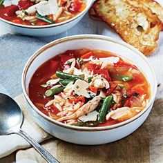 Chicken and Vegetable Soup | CookingLight.com