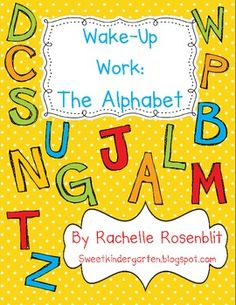 Wake Up Work: The Alphabet