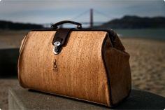 Peasants and Travelers, Natural Cork Doctor's Bag, $240