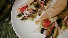 Portabella and Zucchini Tacos Recipe weight watcher, zucchini taco, portabella mushroom tacos, food, healthi, yum, taco recipes, vegetarian, awesom recip