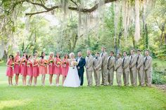 coral bridesmaid dresses | Ashleigh Jayne