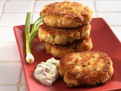 Try this crab cake recipe from Betty Crocker.