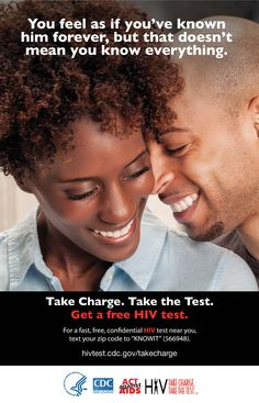 His Facebook status isn't the only thing you need to care about.  Get tested for #HIV.  Your health depends on it.  #TakeChargeandTest http://1.usa.gov/1jfzKsq #Love #Relationships