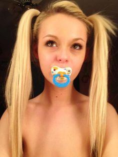 #adult-baby #girl #peggytails #pacifier #abdl http://www.adultlittlegirl.com