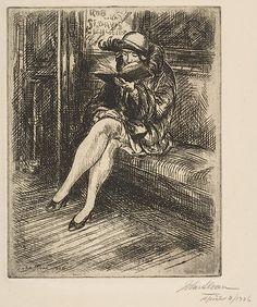 Reading in the Subway  John Sloan  (American, Lock Haven, Pennsylvania 1871–1951 Hanover, New Hampshire)