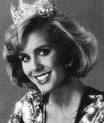 Kellye Cash (Tennessee) Miss America 1987    She has performed with numerous musical artists including Vince Gill, Lee Greenwood, and Billy Joel and has performed in many regional theatrical productions; she was recently chosen for the lead part of country music legend Patsy Cline, in Always...Patsy Cline.