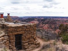 Staying in the Rim Cabins of Palo Duro Canyon State Park, Texas. .. I've stayed in these cabins and it's absolutely beautiful