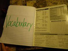 4th Grade Math Notebooks