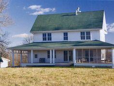 old farmhouses, futur plan, dream american farmhouse, dream hous, farm style, porch, design styles, farm houses, farmhous plan
