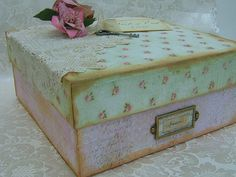 This is simply beautiful - Personalised Memory Box