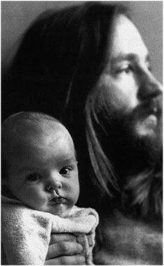Peter Tork with daughter, Hallie.