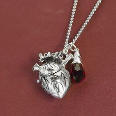 My Beating Heart Necklace Tutorial