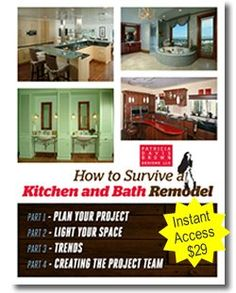 How to survive a kitchen or bath remodel - expert advice to avoid DIY mistakes in your remodeling project #ad