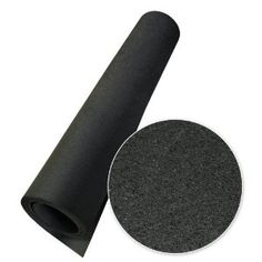 I read on a blog that putting Rubber-Cal Elephant Bark Rubber flooring under a stacked washer and dryer reduces noise and vibrations.