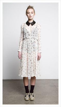 tea dress by juliette hogan
