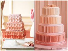 Have your Dream Wedding: Ombre Wedding Cake Ideas